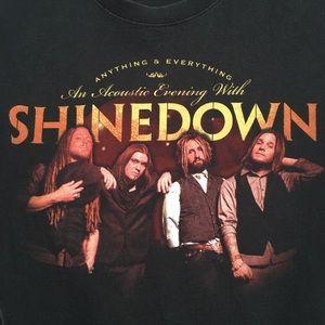 Rare Shinedown An Acoustic Evening t-shirt tee M